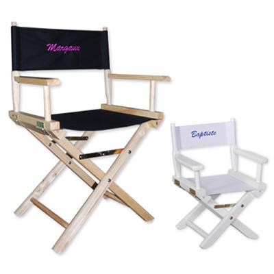 un v 233 ritable fauteuil de metteur en sc 232 ne personnalis 233 id 233 e cadeau f 234 te des p 232 res